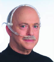 Oxygen Headset - nasal cannula style